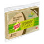 FIBRA ESPONJA SCOTCH-BRITE GREENER CLEAN DE USO DOMESTICO 1 PZA