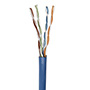 BOBINA CAT 5E 305M SOLIDA INTELLINET 362344 COLOR AZUL