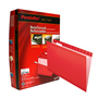 FOLDER DE PAPEL TAMAÑO CARTA TOPS PRODUCTS PENDAFLEX 4152RED TIPO COLGANTE COLOR ROJO 1 PQ C/25 PZS