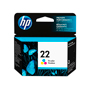 CARTUCHO DE TINTA HP 22 TRICOLOR ORIGINAL C9352AL