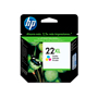 CARTUCHO DE TINTA HP 22XL TRICOLOR ORIGINAL C9352CL