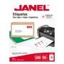 ETIQUETAS BLANCAS JANEL J-5163 DE 5.1X10.2 CM 1 PAQUETE