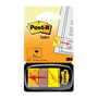 BANDERITAS POST-IT FIRME AQUI COLOR AMARILLO 50 BANDERITAS