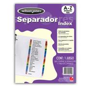 SEPARADOR WILSON JONES P1367 CON ALFABETICO A-Z