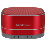 BOCINA PORTATIL MOBIFREE MB-916424 CONEXION BLUETOOTH COLOR CORAL