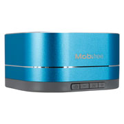 BOCINA PORTATIL MOBIFREE MB-916448 CONEXION BLUETOOTH COLOR AZUL