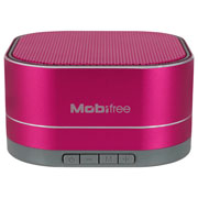 BOCINA PORTATIL MOBIFREE MB-916455 CONEXION BLUETOOTH COLOR LILA
