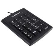 TECLADO NUMERICO ALAMBRICO ACTECK TB-916745 USB COLOR NEGRO
