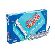 BROCHE DE 8 CM METALICO BACO 182 1 CAJA CON 50 PIEZAS
