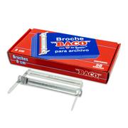 BROCHE DE 8 CM METALICO BACO B082 1 CAJA CON 50 PIEZAS