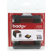 CINTA DE IMPRESION BADGY R100C COLOR YMCKO