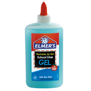 PEGAMENTO LIQUIDO ELMERS GEL GLUE COLOR AZUL TRANSPARENTE 225 ML