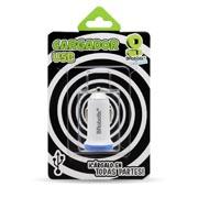 CARGADOR USB PARA AUTO 2.1A 1PTO AZUL