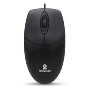 MOUSE USB ALAMBRICO NEGRO K1