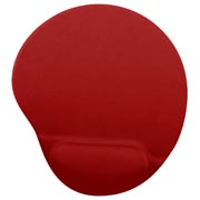 MOUSEPAD GEL COLOR ROJO