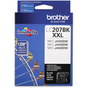 TINTA BROTHER LC207BKXXL LC207BK COLOR NEGRO