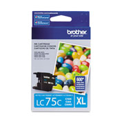 TINTA BROTHER LC75CXL LC75C COLOR CYAN