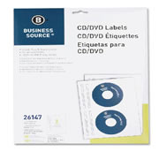 Etiqueta blancas business source cd
