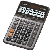 CALCULADORA BASICA SEMI-ESCRITORIO CASIO AX120B 12 DIGITOS