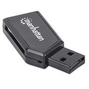 LECTOR TARJETAS 24 EN 1 SD, USB V2.0