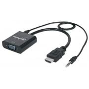 CONVERTIDOR DE MEDIOS MANHATTAN 151450 VGA A HDMI