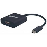 CONVERTIDOR DE MEDIOS MANHATTAN 151788 USB-C A HDMI