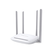 ROUTER INALAMBRICO MERCUSYS MW325R VELOCIDAD 300 MBPS POTENCIA 2.4 GHZ