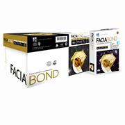 CAJA DE PAPEL DOBLE CARTA BOND BLANCO COPAMEX FACIA BOND GRAMAJE 75 GRS 5 PAQUETES CON 500 HOJAS