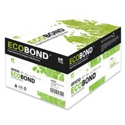 CAJA DE PAPEL BOND ECOBOND BLANCO OFICIO COPAMEX ECOBOND GRAMAJE 75 GRS BLANCURA 91 PORCIENTO 8.5 X 13.3 PULGADAS 10 PAQUETES CON 500 HOJAS