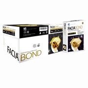 CAJA DE PAPEL BOND BLANCO A4 COPAMEX FACIA BOND GRAMAJE 75 GRS BLANCURA 97 PORCIENTO 8.5 X 11 PULGADAS 10 PAQUETES CON 500 HOJAS