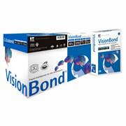 CAJA DE PAPEL COPAMEX VISION BOND CARTA 95 PORCIENTO BLANCURA 10 PAQUETES CON 500 HOJAS 75 GRS