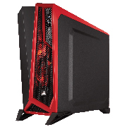 GABINETE CORSAIR SPEC ALPHA BLACK/RED S