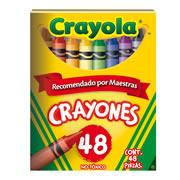 CRAYONES CRAYOLA COLOR SURTIDO CAJA CON 48 PIEZAS