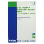 PAPEL ENHANCED MATTE PAPER BLANCO A3 EPSON GRAMAJE 250 GRS BLANCURA - 8.5 X 11 PULGADAS 1 PAQUETE CON 100 HOJAS