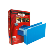 FOLDER DE PAPEL TAMAÑO OFICIO TOPS PRODUCTS PENDAFLEX 59303 TIPO COLGANTE COLOR AZUL 1 PQ C/25 PZS