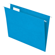 Folder colgante Carta, color azul, co