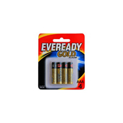 Pila Alcalina Eveready Gold AAA