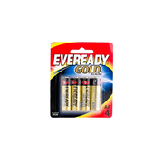 Pila Alcalina Eveready Gold AA