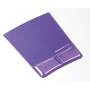 Mousepad fellowes en morado