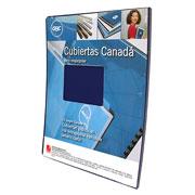 CUBIERTAS GBC MX01881 TAMAÑO CARTA 1 PAQUETE CON 20 PIEZAS
