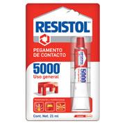 PEGAMENTO DE CONTACTO HENKEL RESISTOL 5000 COLOR AMARILLO 21 ML