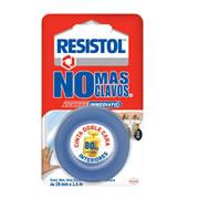 CINTA ADHESIVA DOBLE CARA RESISTOL A80 COLOR MORADO DE 19MM X 1.5 M 1 PZA