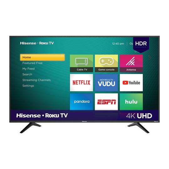 PANTALLA SMART TV ROKU HISENSE 43R6000FM UHD 4K DE 43 PULGADAS