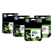 PACK DE 4 CARTUCHOS DE TINTAS HP 933XL CYAN, MAGENTA, AMARILLO Y NEGRO ORIGINAL CN053AL1