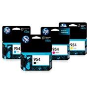 PACK DE 4 CARTUCHOS DE TINTAS HP 954 NEGRO, AMARILLO, CYAN, MAGENTA ORIGINAL L0S59AL, L0S56AL, L0S50AL Y L0S53AL