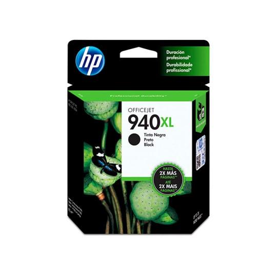 CARTUCHO DE TINTA HP 940XL NEGRO ORIGINAL C4906AL