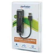 LECTOR TARJETAS 79 EN 1 SD, USB V2.0