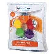 HUB USB V2.0 4 PUERTOS FLOR MULTICOLOR