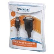 CONVERTIDOR USB A-SERIAL DB9, 1 PTO M-M