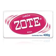 JABON ZOTE 400 GR ROSA
